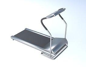 3D asset low-poly treadmill