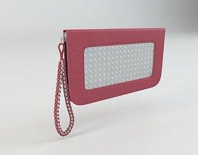 Woman Designer Handbag Clutch 3D