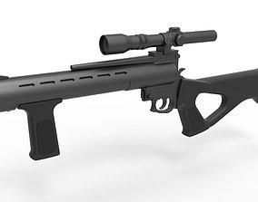 Deathwatch Blaster Rifle from The Mandalorian TV 3D model