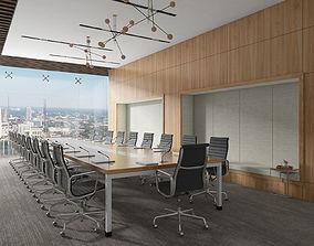 3D model Conference Room Interiors Scene 04