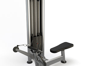 Gym Pulley Row Mchine 3D