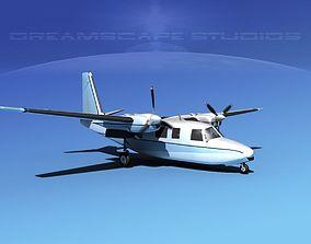 Rockwell Aero Commander 560 V18 3D
