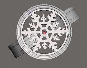 SnowFlake Ring 3D print model