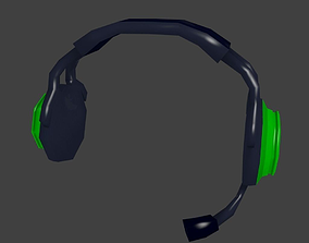 3D printable model Lowpoly Headphone