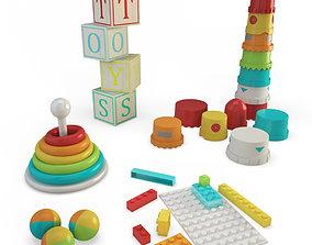3D Plastic Toys