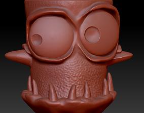 Monster pot 2 stl for 3D printing 3D print