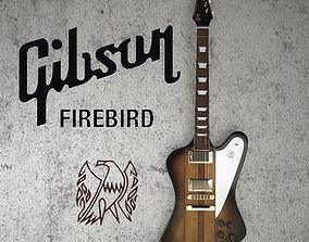 3D Gibson firebird