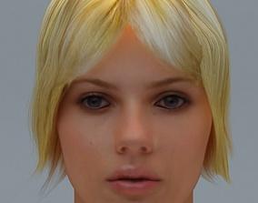 3D Scarlett Johansson Hair