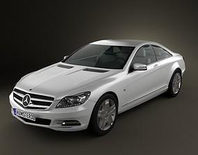 Mercedes-Benz CL-Class W216 2011 3D