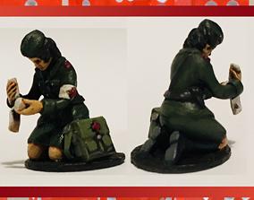 warfare 3D print model 28mm Soviet Russian Medic WW2