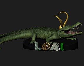 CROCODILE LOKI VARIANT 3D printable model