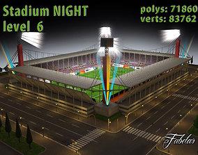 3D model Stadium Level 6 Night