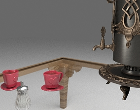 Tea Set teapot 3D model