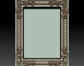 Decorative frame 4 3D model