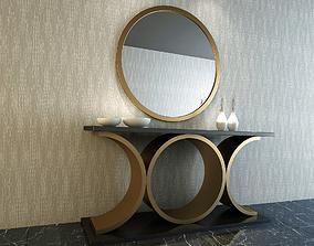 3D CONSOLE MODEL 3D model mirror