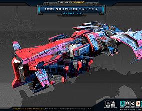 3D model NEXTGEN - USS Nautilus Cruiser - Class VII