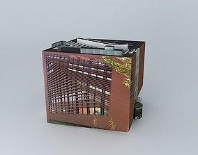 3D model Aarhus Museum of Art Aros