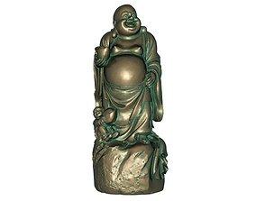 3D print model 3D asset low-poly budha Maitreya