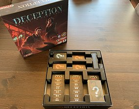 Deception--Murder in Hong Kong Board Game 3D print model