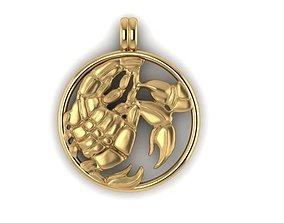 magerit zodiac scopion 3D printable model