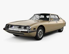 3D model Citroen SM 1970
