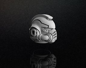 Primaris Space Marine Helmet 3D Model pendants