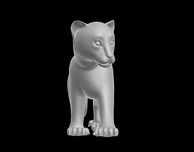 TIGER CUB RIGGED 3DS MAX realtime