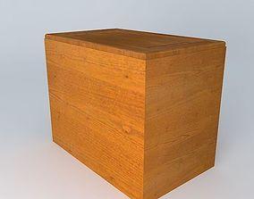 brw 3D Kitchen Red Fair Cabinet