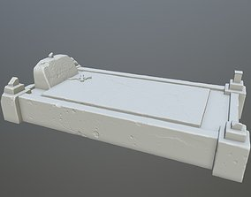 3D printable model tombstone 8