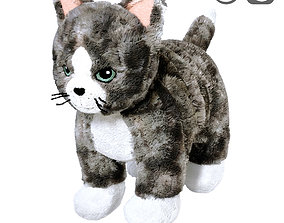 3D LILLEPLUTT Soft toy cat