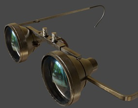 Obrira Goggles Realistic low poly 3D asset