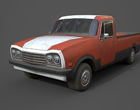 Generic PickUp Orange 3D asset