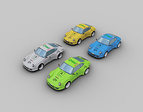 Porsche 911 rauh-welt 3D model