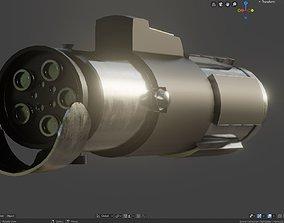 3D model Yoda Lightsaber