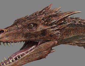 3D model vray Dragon