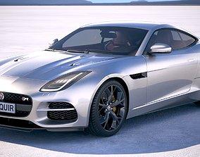 3D model Jaguar F-Type R Coupe 2018