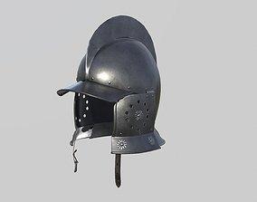Conquistador Morion Helmet01 3D asset