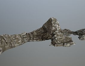 rocks mount 3D asset VR / AR ready