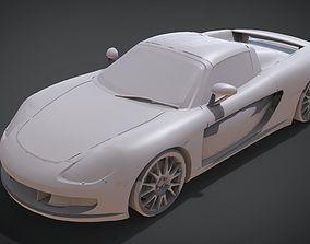 3D print model Porsche Carrera GT