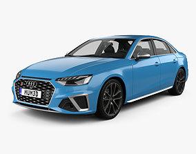 Audi S4 sedan 2019 3D