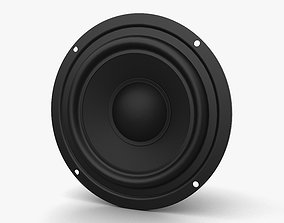 Sound Speaker 3D model interior