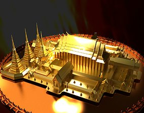 Chinese temple 3D