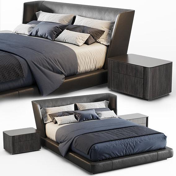 Reeves Bed 3D