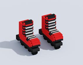 3D asset VOXEL ROLLERS