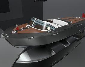 3D model Riva Aquarama Boat