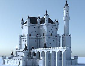 Fantasy Castle 005 3D