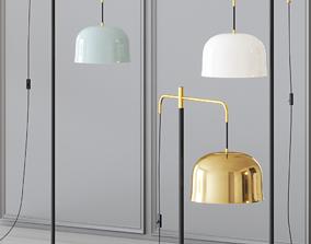 Lampatron Dome - Floor Lamp 3D model