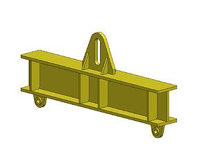 3D print model Lifting beam