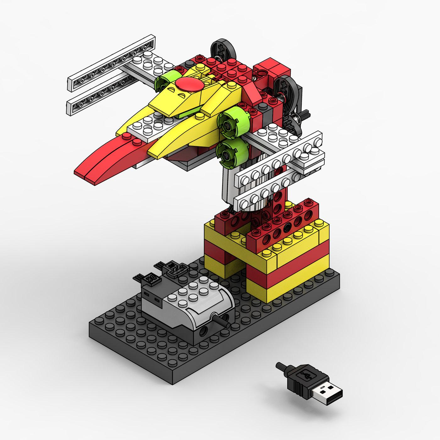 LEGO WeDo X-wing
