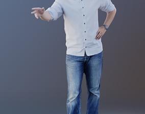 3D model Michael 10182 - Standing Business Man